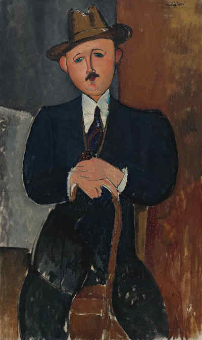 detective prive art modigliani